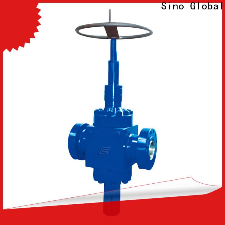 Sino Global Latest wellhead valves company for valves