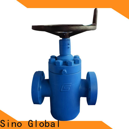 Sino Global Pneumatic gate valve Supply for drilling manifolds