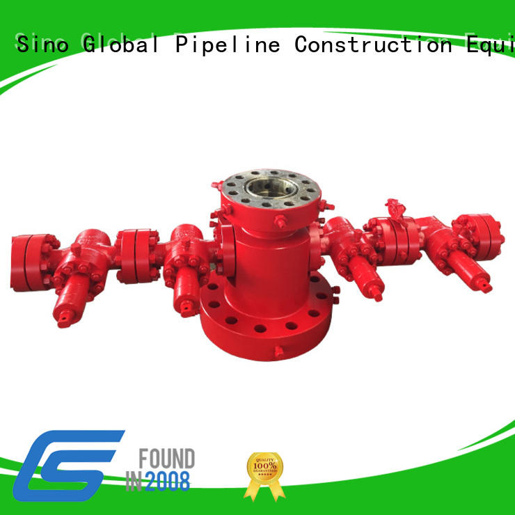 Custom wellhead components Supply for connecting casings