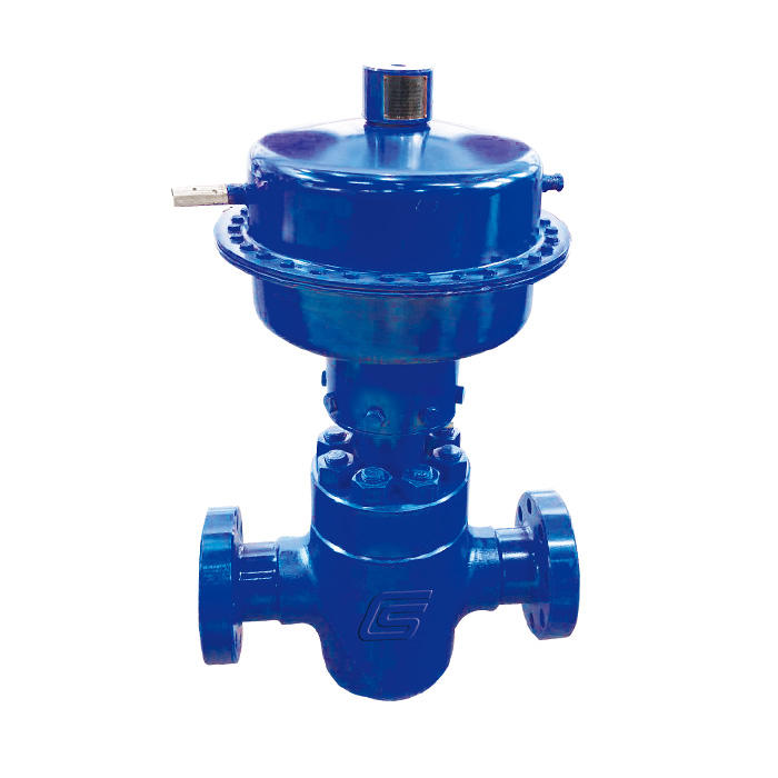 Diaphragm  pneumatic safety valve