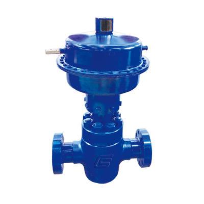 Diaphragm  pneumatic safety valve