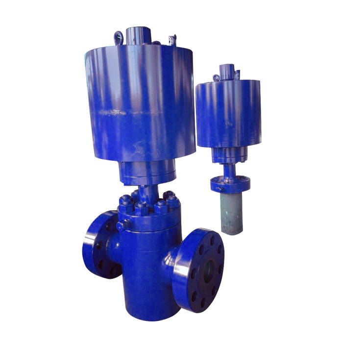 Piston  pneumatic safety valve