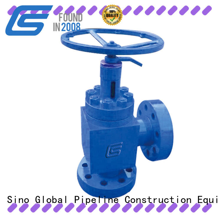 Sino Global choke valve price list Supply for high pressure pipeline
