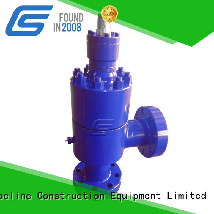 Sino Global New positive choke valve factory for high pressure pipeline
