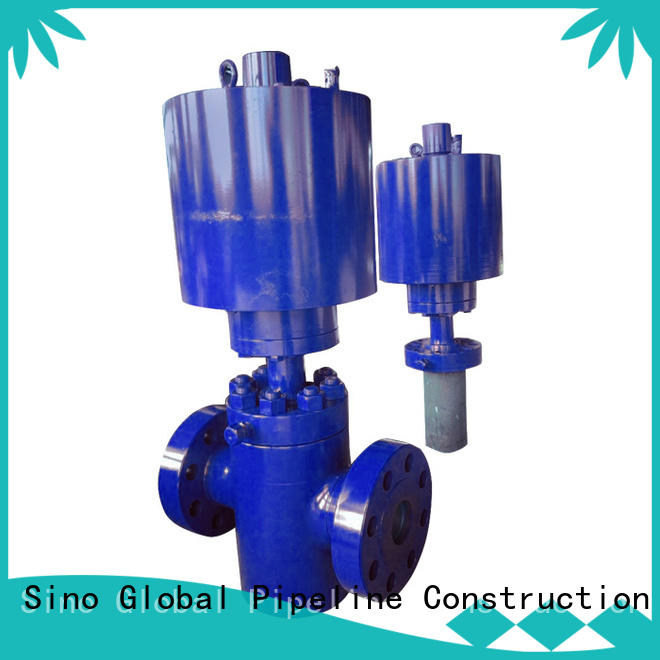 Sino Global Custom safety valve factory Supply for Hydraulic Source Pipeline Gas