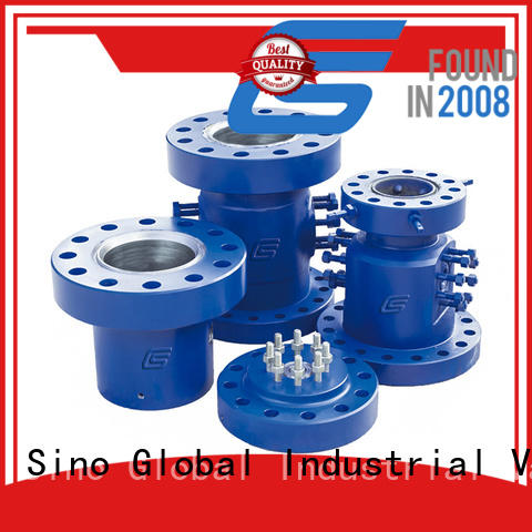 Custom wellhead parts for business for connecting casings